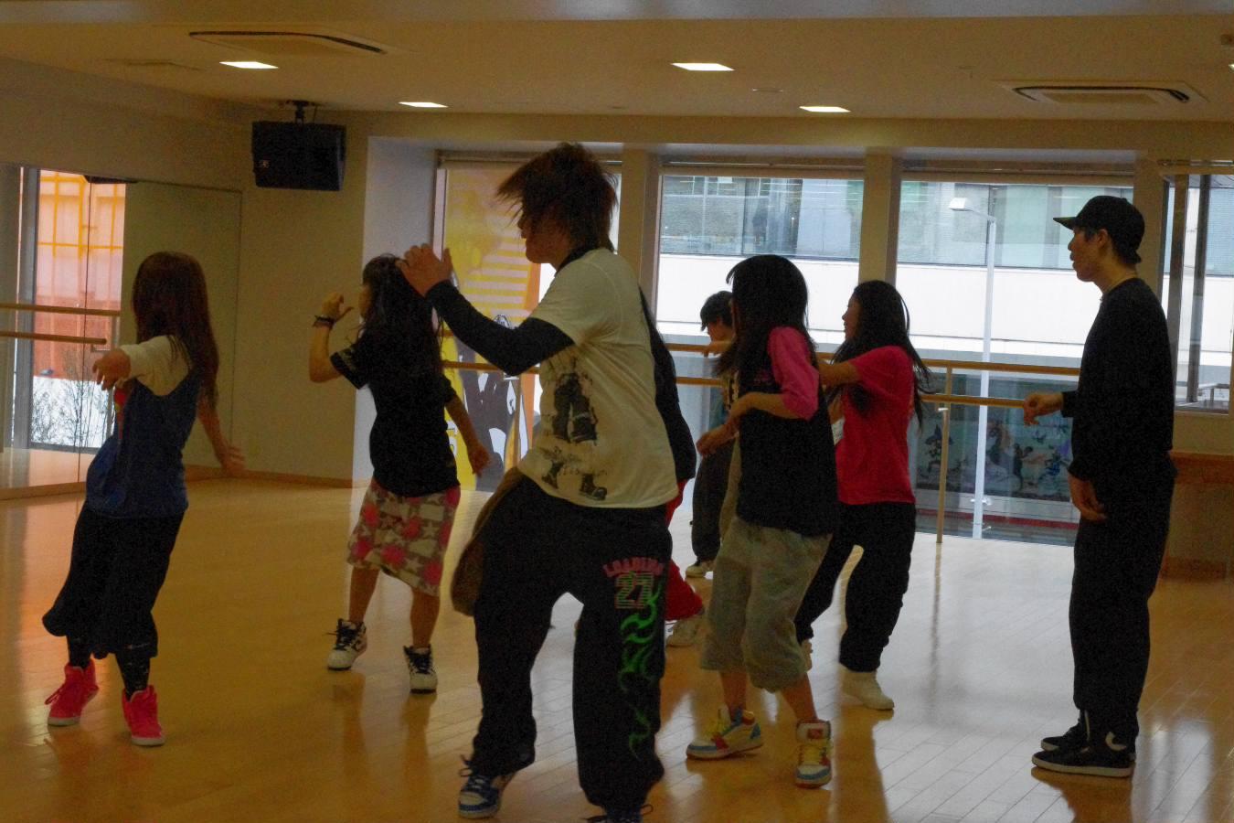 ダンスチーム『KoRocK』泰智氏来校☆